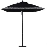 6 1/2 ft. Aluminum Market Square Double Pulley Umbrella
