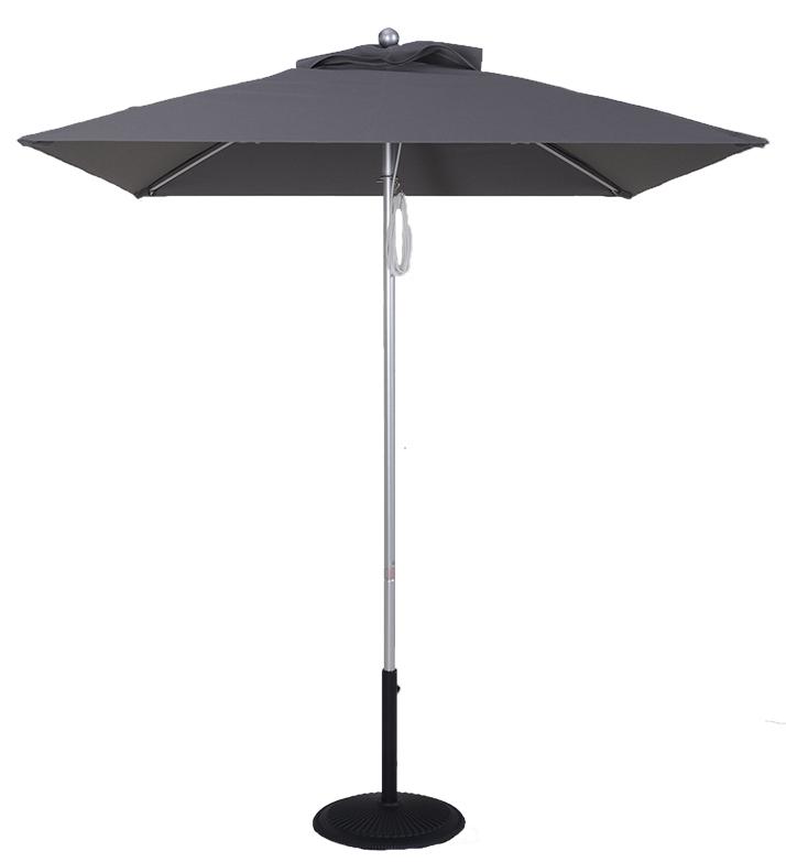 5.5 Ft Commercial Heavy Duty Aluminum Square Market Umbrella