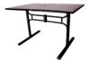 Folding Solid Metal Top Table (ADA Compliant) - outdoor furniture