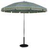 7.5 Ft. Aluminum Pop-Up Steel Rib No Tilt Umbrella