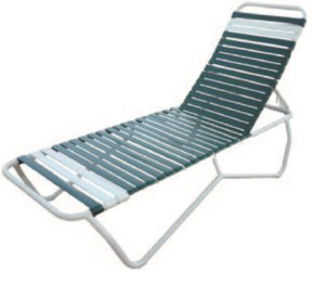 Aruba Chaise Lounge - Outdoor Furniture, guaranteed no rust