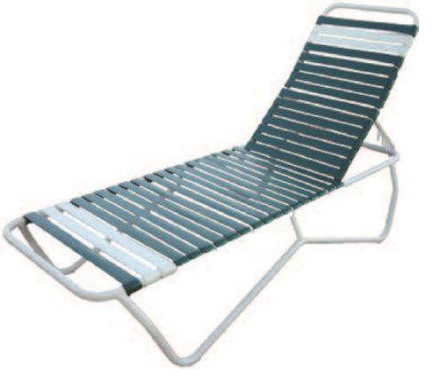 Aruba Chaise Lounge - Outdoor Furniture, guaranteed no rust