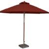 11 Ft. Wood Market Umbrella