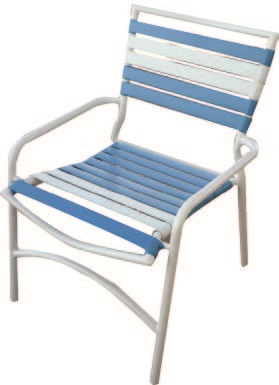 Commercial Vinyl Strap Outdoor Chairs