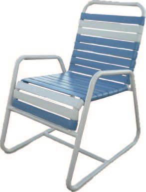C-55 Commercial Strap Outdoor Chairs - outdoor furniture sale