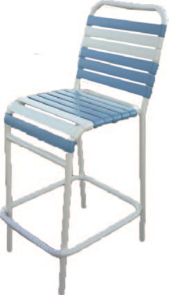 Classic Barstool, vinyl strapped - outdoor furniture for sale