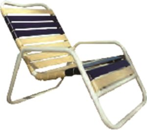 Classic Line Commercial Grade Stackable Horizontal Sand Chair