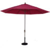 11 Ft. Aluminum Market Auto-Tilt Umbrella