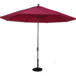 11 Ft. Aluminum Market Auto-Tilt Umbrella, beach umbrella, restaurant umbrella, hotels