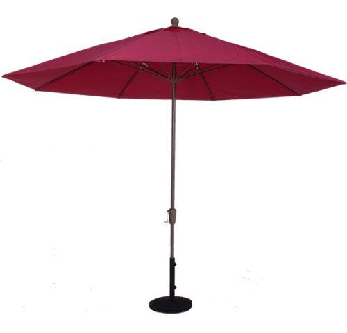 11 Ft. Aluminum Market Auto-Tilt Umbrella