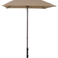 5 1/2' Aluminum Market Square Pop-Up Umbrella