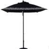 6 1/2 ft. Aluminum Market Square Double Pulley Umbrella