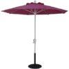 7.5 ft. Aluminum Market Crank Umbrella (Special Sale)