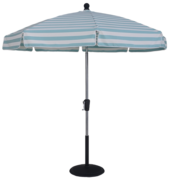 8 1/2 Ft. Aluminum Standard Crank and Tilt Umbrella