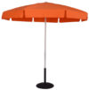 6.5 Ft. Aluminum Standard Pop-Up Fiberglass No Tilt Umbrella