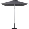 7.5 Ft Commercial Heavy Duty Aluminum Market Square Umbrella