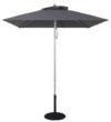 7.5 Ft Commercial Heavy Duty Aluminum Market Square Umbrella
