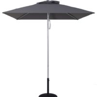 5.5 Ft Commercial Heavy Duty Aluminum Square Market Umbrella