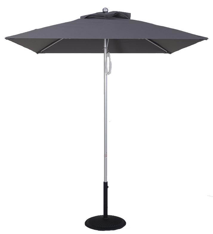 6.5 Ft. Commercial Heavy Duty Aluminum Market Square Umbrella