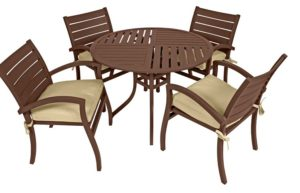 5 Pc. Patio Dining Furniture Set (Fremont Collection)