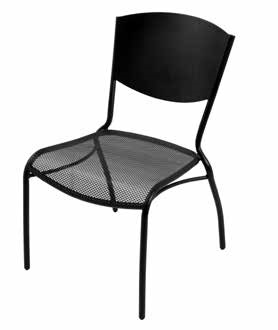Topeka Side Chair - stackable outdoor furniture for sale