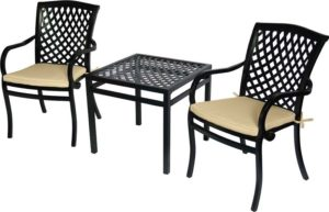 3 Pc. Balcony Furniture Set (Wellington Collection)