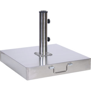 100 lb. Stainless Steel Cement Filled Umbrella Base