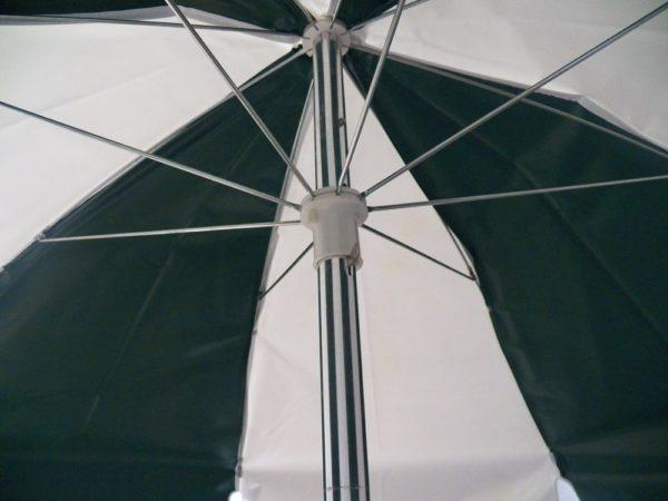 Umbrella Pole Manufacturers Mail: 6.5 Ft. Aluminum Pop-Up Steel Rib Push Button Tilt