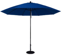 11 ft. Aluminum Market Umbrella w/ Double Pulley