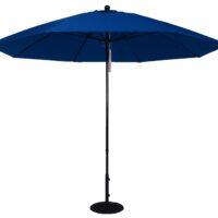11 ft. Aluminum Market Umbrella w/ Double Pulley