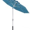 7.5 ft. Aluminum Auto-Tilt Market Umbrella