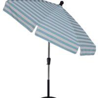 7 1/2 ft Crank & Manual Tilt Fiberglass Standard Umbrella - Beach Umbrellas for sale
