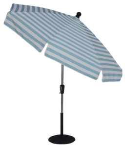7 1/2 ft Crank & Manual Tilt Fiberglass Standard Umbrella - Beach Umbrellas for sale