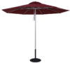 9 Ft Commercial Heavy Duty Fire Retardant Market Umbrella