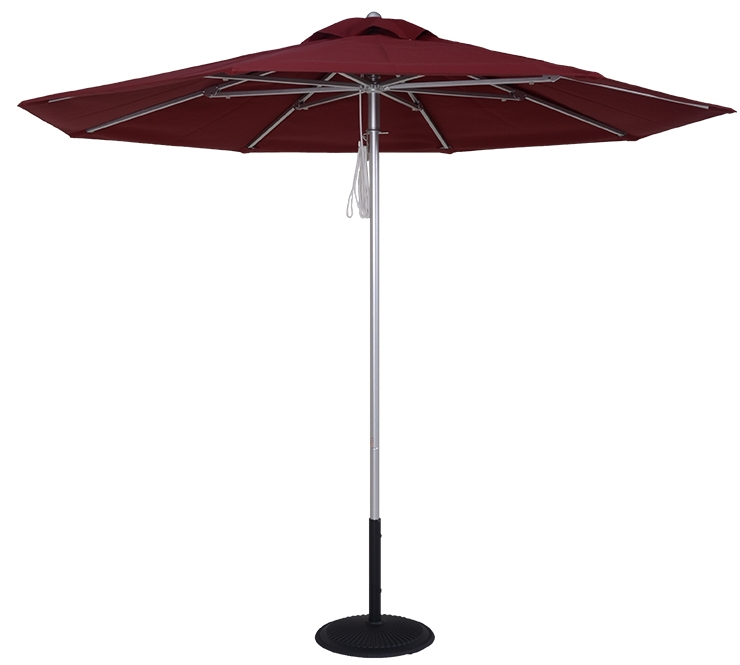 9 Ft Commercial Heavy Duty Fire Retardant Market Umbrella
