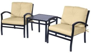 3 Pc. Bistro Furniture Set (Fremont Collection) - outdoor furniture