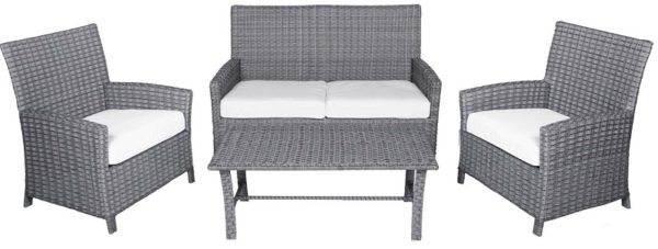 4 Pc. Patio Seating Furniture Set (Spring Hill Collection) - outdoor furniture
