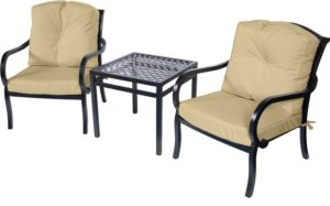 3 Pc. Bistro Furniture Set (Wellington Collection) - Outdoor Furniture