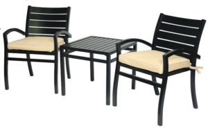 3 Pc. Balcony Furniture Set (Fremont Collection) - outdoor furniture