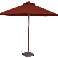 11 ft wood market umbrella