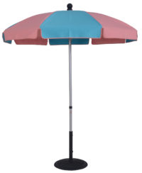 6 ½ Ft. Aluminum Standard Pop-Up Skinny Fiberglass Manual Tilt Umbrella