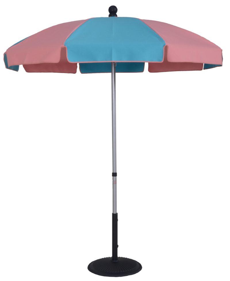 6 ½ Ft. Aluminum Standard Pop-Up Skinny Fiberglass Manual Tilt Umbrella