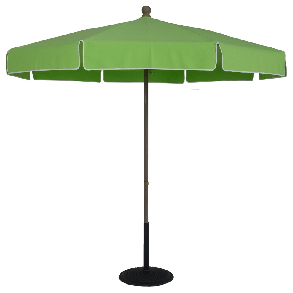 7 5 Ft Aluminum Standard Pop Up No Tilt Umbrella
