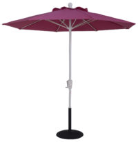 7.5 ft market umbrella with crank
