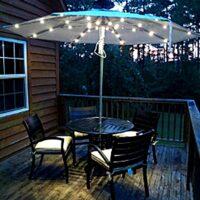 Illumishade Solar Lighted Umbrellas
