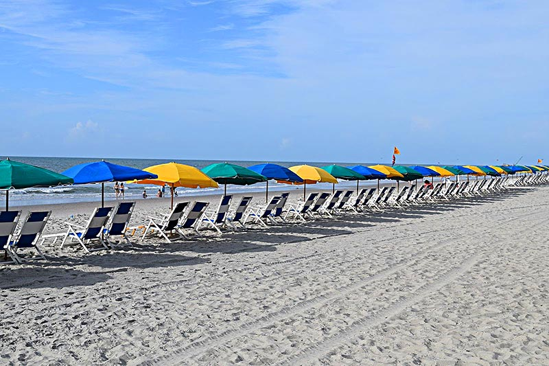 Beach Umbrella Rules Change For Myrtle Beach After Labor Day