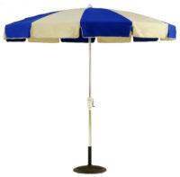 8.5 ft Patio umbrella 12 panel no tilt
