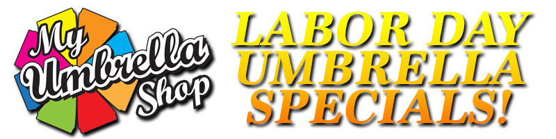 Labor Day Umbrella Specials